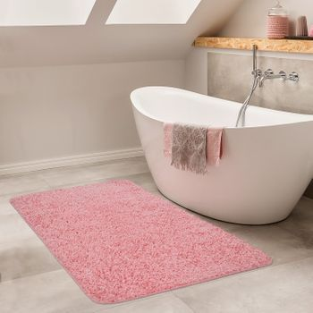 Bathroom Rug One-Colour Deep-Pile Non-Slip In Various Sizes And Colours – Bild 14