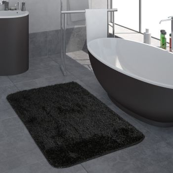 Deep-Pile Bathroom Rug One-Colour Non-Slip In Various Sizes And Colours – Bild 5