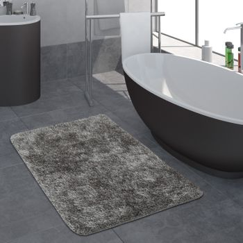 Deep-Pile Bathroom Rug One-Colour Non-Slip In Various Sizes And Colours – Bild 11