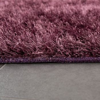 Deep-Pile Bathroom Rug One-Colour Non-Slip In Various Sizes And Colours – Bild 18