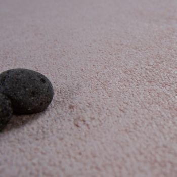 Kurzflor Wohnzimmer Teppich Waschbar Strapazierfähig Einfarbig Meliert In Rosa – Bild 3