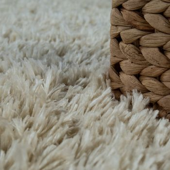 Deep Pile Living Room Rug Washable Shaggy Plain In Various Sizes And Colours – Bild 7