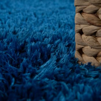 Deep Pile Living Room Rug Washable Shaggy Plain In Various Sizes And Colours – Bild 4