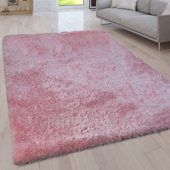 Deep Pile Living Room Rug Washable Shaggy Plain In Various Sizes And Colours – Bild 14