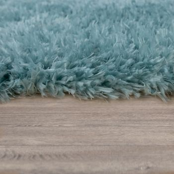 Deep Pile Living Room Rug Washable Shaggy Plain In Various Sizes And Colours – Bild 12