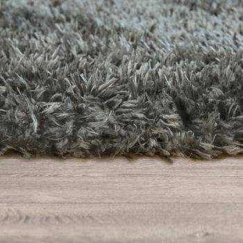 Deep Pile Living Room Rug Washable Shaggy Plain In Various Sizes And Colours – Bild 9
