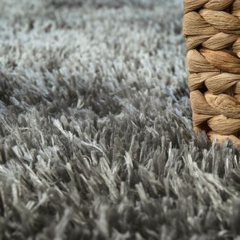 Deep Pile Living Room Rug Washable Shaggy Plain In Various Sizes And Colours – Bild 10
