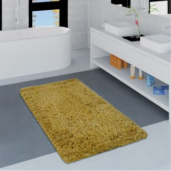 Modern Bath Mat Bathroom Rug Shaggy Soft In Various Sizes And Colours – Bild 5