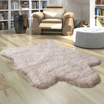 Fur Rug Faux Fur XXL Imitation Flokati Style Deep Pile Various Sizes And Colours – Bild 17