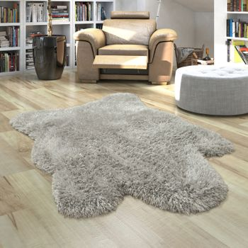 Fur Rug Faux Fur XXL Imitation Flokati Style Deep Pile Various Sizes And Colours – Bild 5