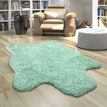 Fur Rug Faux Fur XXL Imitation Flokati Style Deep Pile Various Sizes And Colours – Bild 14