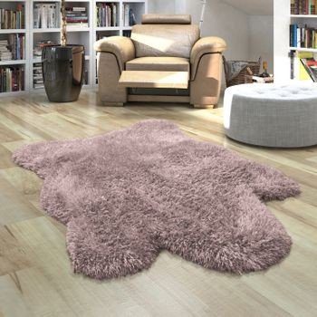 Fur Rug Faux Fur XXL Imitation Flokati Style Deep Pile Various Sizes And Colours – Bild 2
