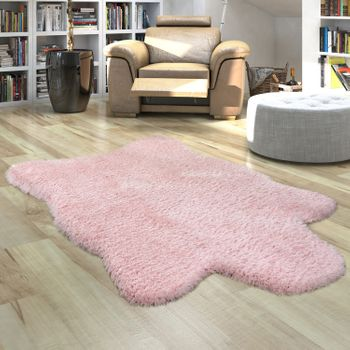 Fur Rug Faux Fur XXL Imitation Flokati Style Deep Pile Various Sizes And Colours – Bild 23