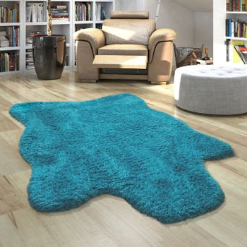 Fur Rug Faux Fur XXL Imitation Flokati Style Deep Pile Various Sizes And Colours – Bild 20
