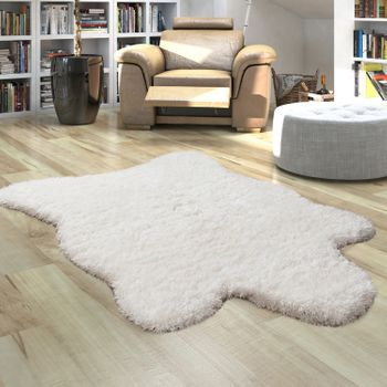 Fur Rug Faux Fur XXL Imitation Flokati Style Deep Pile Various Sizes And Colours – Bild 11