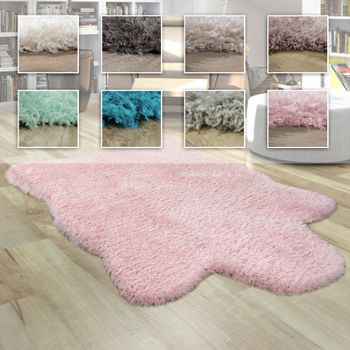 Fur Rug Faux Fur XXL Imitation Flokati Style Deep Pile Various Sizes And Colours – Bild 1