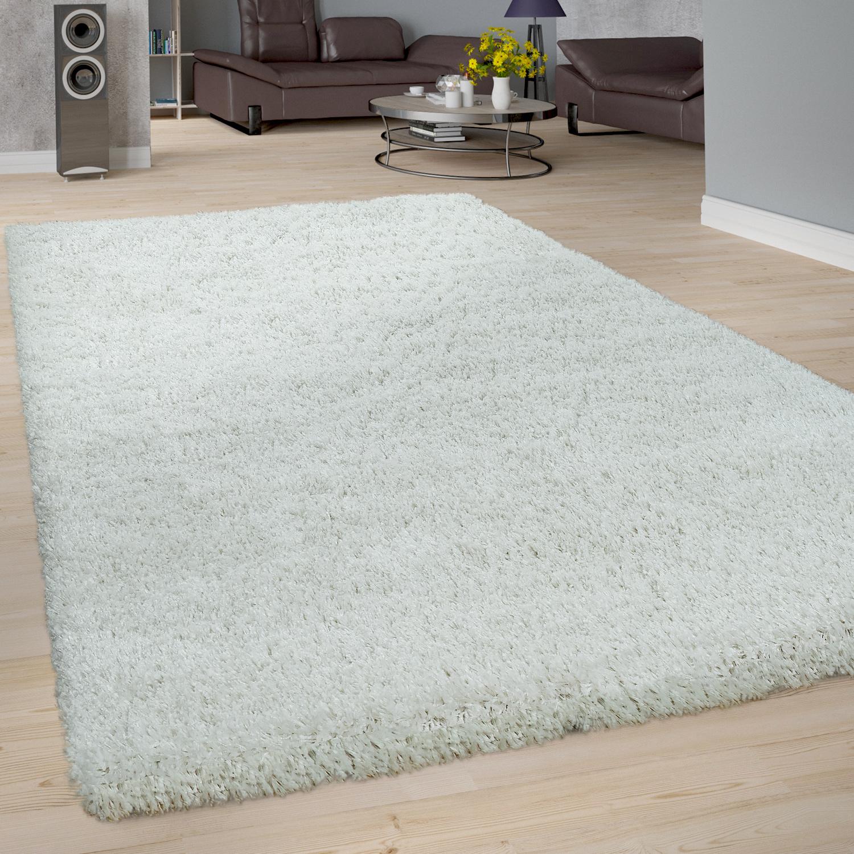 Tapis Long Poil Blanc tapis poils longs shaggy uni blanc