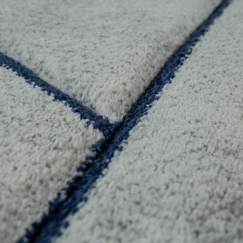 kurzflor teppich marmor design grau blau. Black Bedroom Furniture Sets. Home Design Ideas
