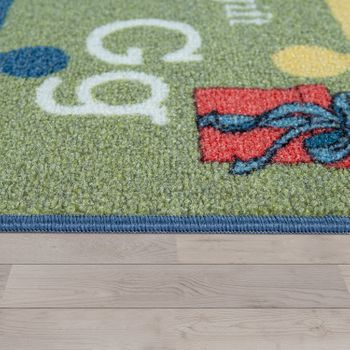 Carpet for children, educational carpet for children's rooms, With letters and numbers, Colourful – Bild 2
