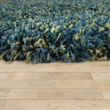 Deep-Pile Rug Shaggy Grey Beige Blue Pink Anthracite Living Room Soft Robust – Bild 6
