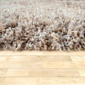 Deep-Pile Rug Shaggy Grey Beige Blue Pink Anthracite Living Room Soft Robust – Bild 9
