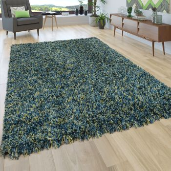 Deep-Pile Rug Shaggy Grey Beige Blue Pink Anthracite Living Room Soft Robust – Bild 5