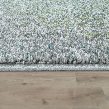 Designer Rug, Short-Pile Rug With Triangle Pattern and Colour Gradient, In Multicoloured – Bild 2
