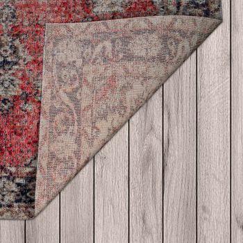 In- & Outdoor-Teppich Für Balkon Und Terrasse, Mit Orient-Muster, In Rot  – Bild 3