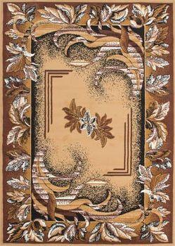 Orient Muster Beige Creme