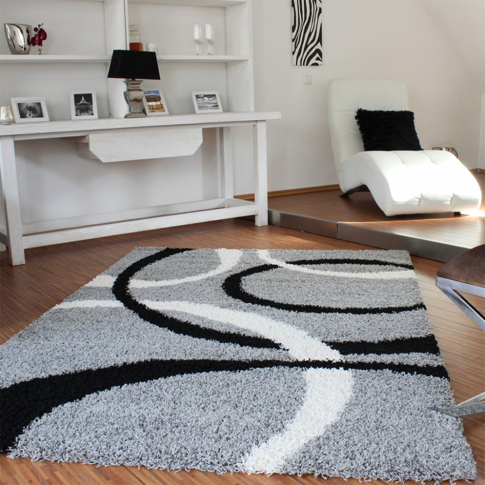 Hochlfor Weiss Hochflor Teppiche