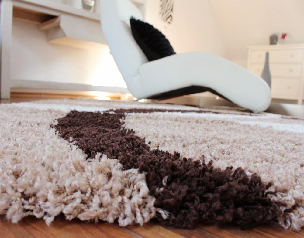 hochflor braun hochflor teppiche. Black Bedroom Furniture Sets. Home Design Ideas