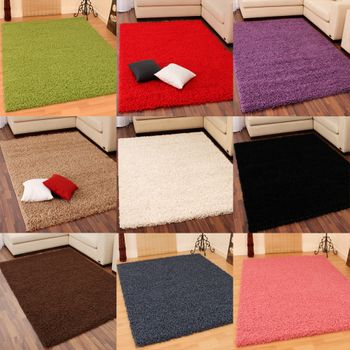 Shaggy Tapis Divers Couleurs
