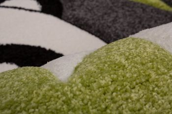 Kids' Rug - Contemporary - Panda - Grey Black – Bild 3