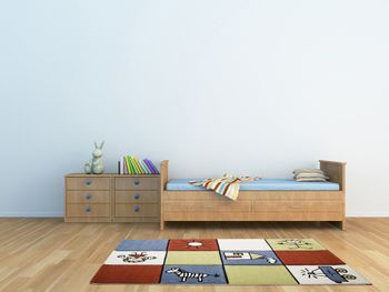 Kids' Rug - Contemporary - Multicoloured - Red Blue Green – Bild 2