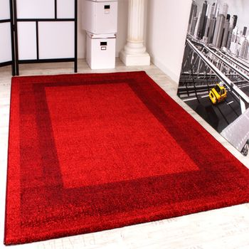 Tapis Velours En Rouge