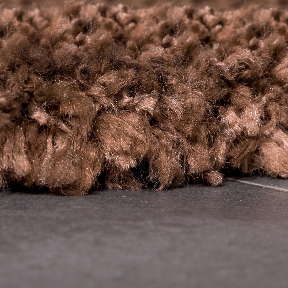 orl dark thick brown rug dbrown products thin shag metallic floorsome
