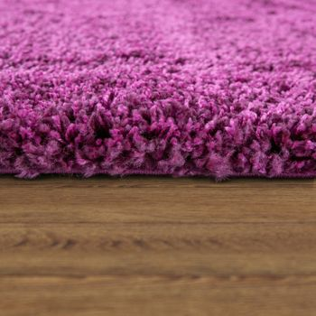Shaggy Rug / Super High Pile Shaggy / Rug for living room / -Rio XXL- Purple – Bild 2