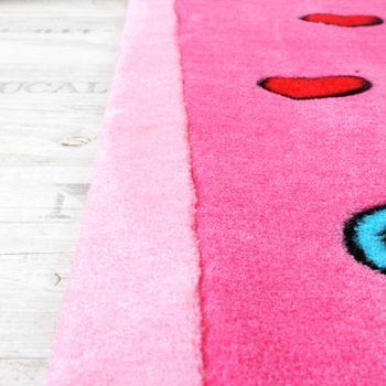 Hello Kitty Teppich Kinderzimmer Teppich Hello Kitty und Freunde in Pink Rosa – Bild 3