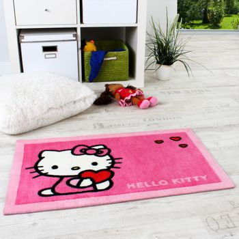 Hello Kitty Teppich Pink
