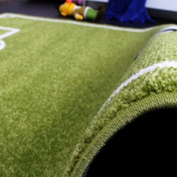 Kids' Rug - Play Carpet - Football Pitch - Green – Bild 3