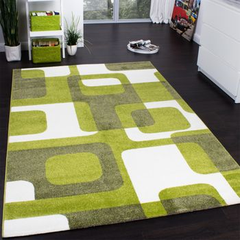 Trendy Retro Rug - Green