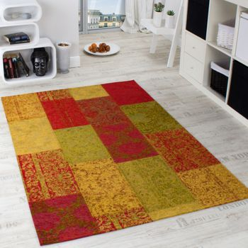 Multi-coloured Antik vintage rug