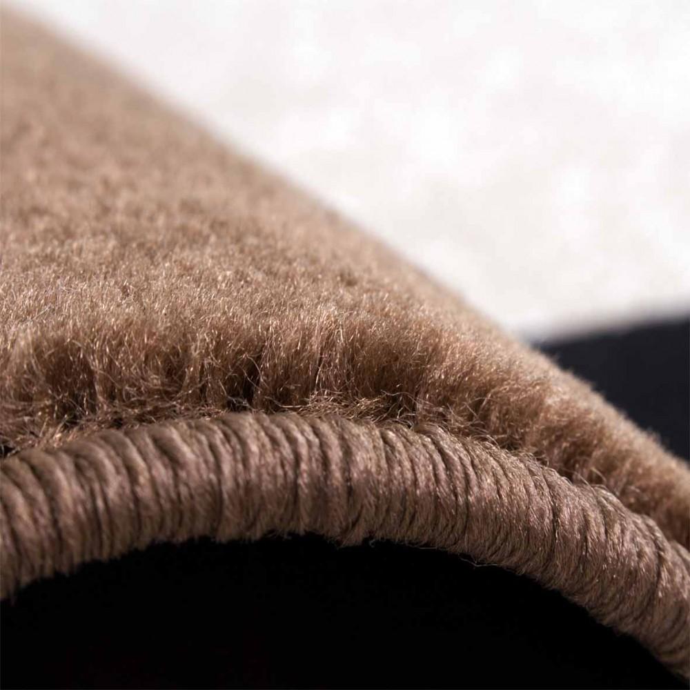 designerteppich bord252re braun design teppiche