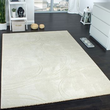 Designer Carpet In Ivory Cream