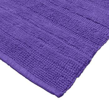 Badematten Badezimmermatte Badteppiche Baumwolle in Uni versch. Farben u. Größen – Bild 18