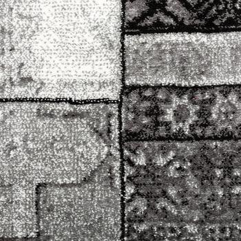 Wohnzimmer Teppich Grau Orient Muster Ausverkauf – Bild 2