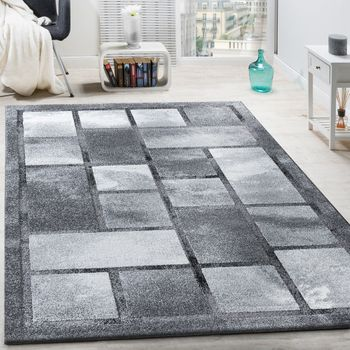 Designer Rug High-Deep Effect Grey