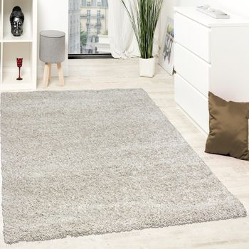 Shaggy High-Pile Rug Beige and Cream Great Price CLEARANCE SALE – Bild 1