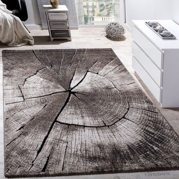 Rug Lounge Tree Trunk Grey Brown