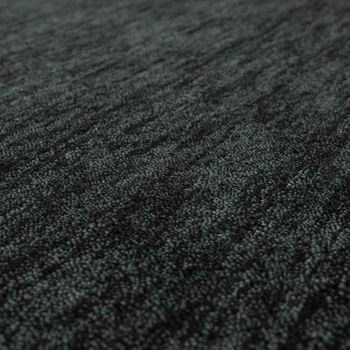 Rug Hand-knotted Gabbeh High Quality 100% Wool Subtle Mottled Anthracite – Bild 3